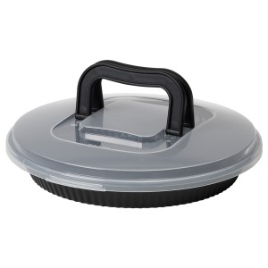 ЛОККБЕТЕ Форма для пирога с крышкой, черный