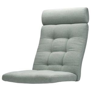 ПОЭНГ Подушка-сиденье на кресло, Гуннаред светло-зеленый