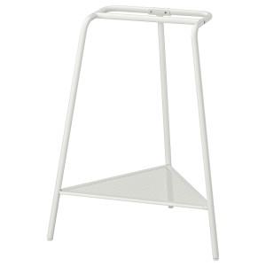 ТИЛЛЬСЛАГ Опора для стола, белый металлический