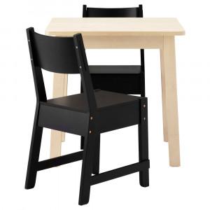 НОРРОКЕР / НОРРОКЕР Стол и 2 стула