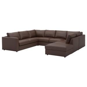 ВИМЛЕ 6-местный п-образный диван