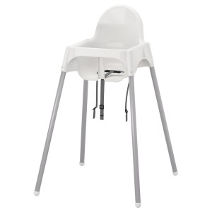 АНТИЛОП Высок стульчик с ремн безопасн