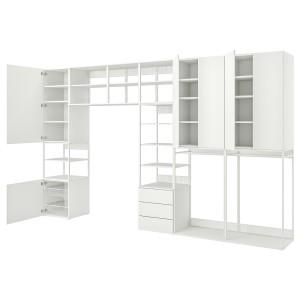ОПХУС Комбинация с 6 дверьми/3 ящиками, белый, Фоннес белый