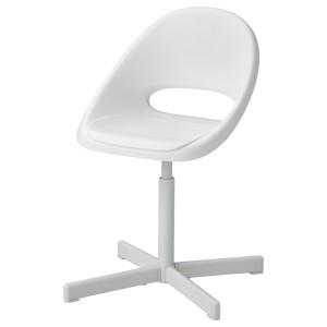 ЛОБЕРГЕТ / СИББЕН Детский стул д/письменного стола, белый