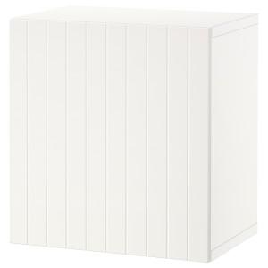 БЕСТО Комбинация настенных шкафов, белый, Суттервикен белый