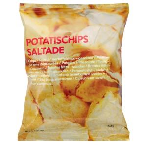 POTATISCHIPS SALTADE Чипсы с солью