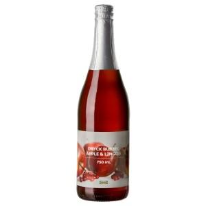 DRYCK BUBBEL ÄPPLE & LINGON Напиток яблочно-брусничный, 0.75л