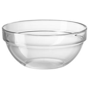 КЕМИСК Салатница, прозрачное стекло