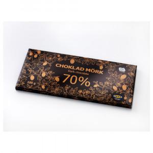 CHOKLAD MÖRK 70% Шоколад горький 70%