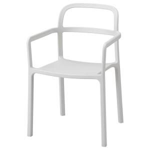 ЮППЕРЛИГ Легкое кресло для дома/сада, светло-серый