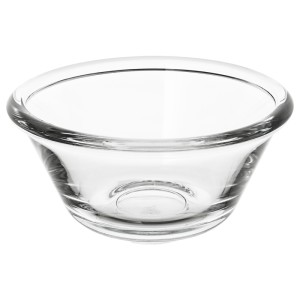 ВАРДАГЕН Миска, прозрачное стекло