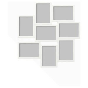 ВЭКСБУ Рама для коллажа на 8 фото, белый