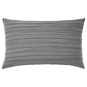 ВЕКЕТОГ Чехол на подушку, серый