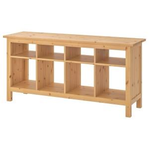 ХЕМНЭС Консольный стол, светло-коричневый