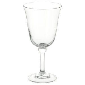 ФРАМТРЭДА Бокал для вина, прозрачное стекло, папоротник