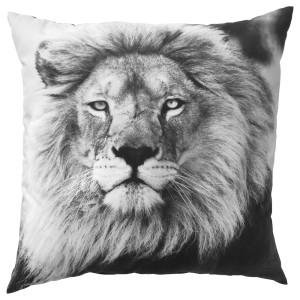 УРСКОГ Подушка, лев, серый