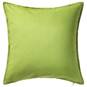 ГУРЛИ Чехол на подушку, зеленый