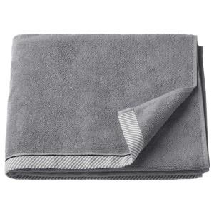 ВИКФЬЕРД Банное полотенце, серый