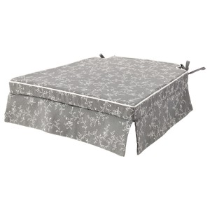 ЭЛЬСЭБЭТ Подушка на стул, серый