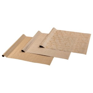 ГИВАНДЕ Рулон оберточной бумаги, естественный, белый, 9м