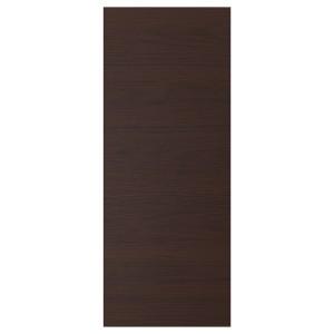 АСКЕРСУНД Дверь, темно-коричневый под ясень