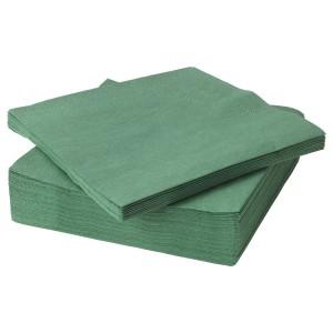 ФАНТАСТИСК Салфетка бумажная, темно-зеленый