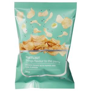 - Картофельные чипсы