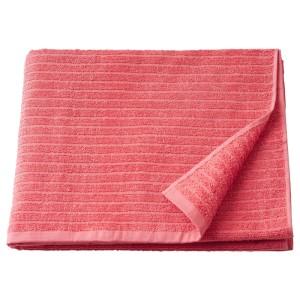 ВОГШЁН Банное полотенце, светло-красный