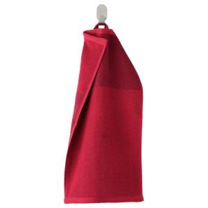 ХИМЛЕОН Полотенце, темно-красный, меланж
