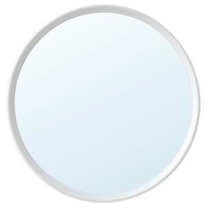 ХЭНГИГ Зеркало, белый, круглой формы