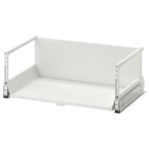 ЭКСЕПТИОНЕЛЛЬ Высокий ящик с нажимным механизмом, белый