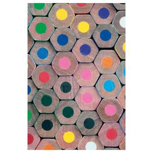 БИЛЬД Постер, Цветные карандаши