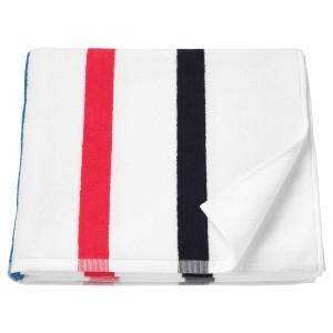 ФОСКОН Банное полотенце, белый, разноцветный