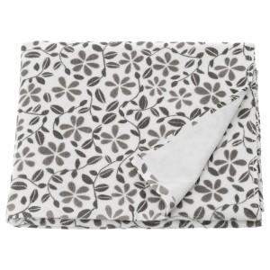 ЮВЕЛЬБЛОММА Банное полотенце, белый, серый