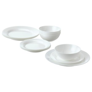 ФАВОРИСЕРА Сервиз,12 предметов, белый