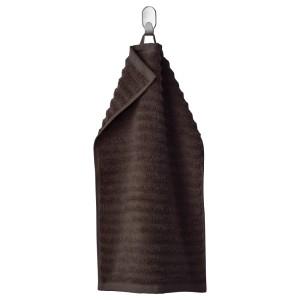 ФЛОДАРЕН Полотенце, темно-коричневый