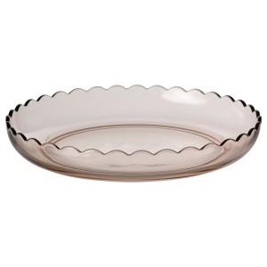 СЕСАМФРЁН Декоративная тарелка, светло-розовый