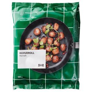 ХУВУДРОЛЛ Овощные фрикадельки/гороховый белок, замороженный, 0.5кг