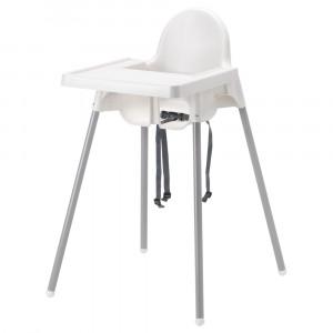 АНТИЛОП Высокий стульчик со столешн
