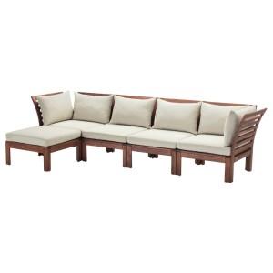 ЭПЛАРО 4-местный модульный диван, садовый