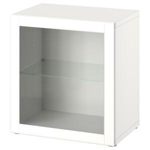 БЕСТО Комбинация настенных шкафов, белый, оствик белый