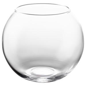 КРОНТ Ваза, прозрачное стекло