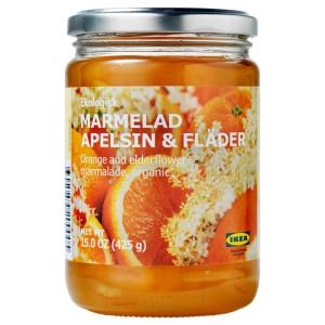 MARMELAD APELSIN & FLÄDER Джем из апельсина и цветов бузины, ., 0.425кг