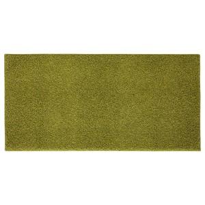 АЛЛЕРСЛЕВ Ковер, длинный ворс, светло-зеленый