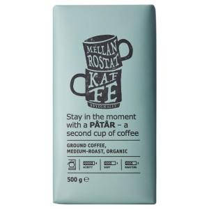 PÅTÅR Кофе молотый, средней обжарки, ., сертификат UTZ/100 % зерна Арабики, 0.5кг