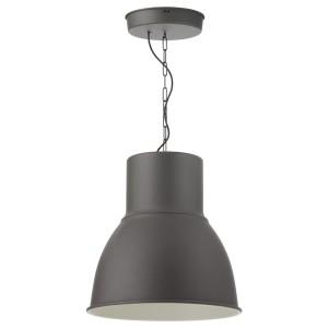 ХЕКТАР Подвесной светильник, темно-серый
