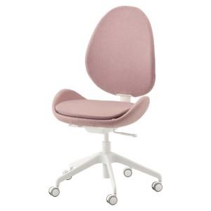 ХАТТЕФЬЕЛЛЬ Рабочий стул, Гуннаред светлый коричнево-розовый