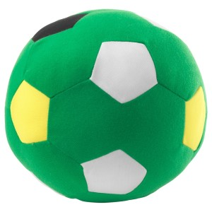 СПАРКА Мягкая игрушка, футбольный зеленый, зеленый