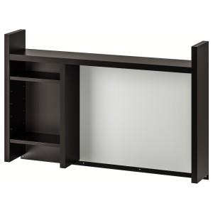 МИККЕ Высокий дополнит модуль, черно-коричневый