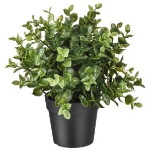 ФЕЙКА Искусственное растение в горшке, душица